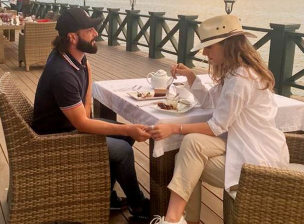 Илья Авербух и Лиза Арзамасова отправились в романтический отпуск