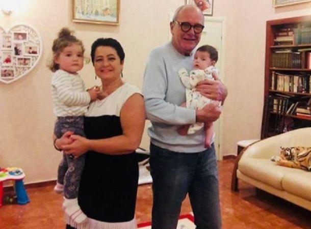 Дочери 80-летнего Эммануила Виторгана исполнился один год