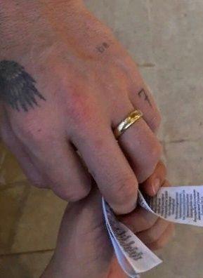 Сын Дэвида Бекхэма тайно женился