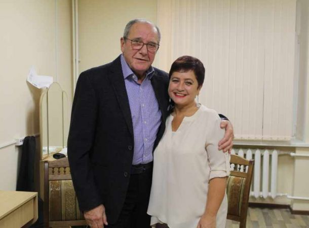 80-летний Эммануил Виторган поделился трогательным фото с младшей дочерью