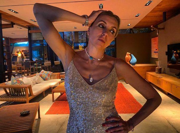 Светлана Бондарчук сорит деньгами на медовом месяце в Турции