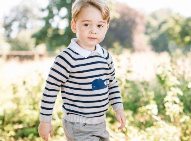 7-летний принц Джордж поохотился на тетеревов