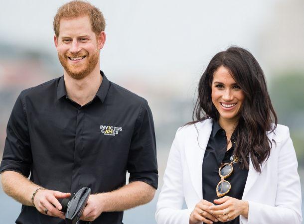 Меган Маркл и принц Гарри отодвинули благотворительность на второй план ради карьеры в кино