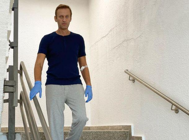 Алексей Навальный трогательно обратился к жене