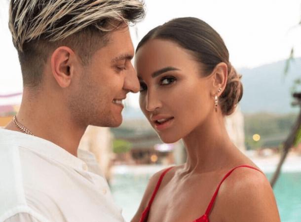 Ольга Бузова и Давид Манукян устроили сцену с поцелуями