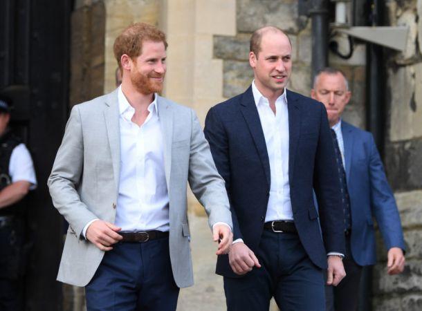 Конфликт принцев Уильяма и Гарри начался еще в 2005 году