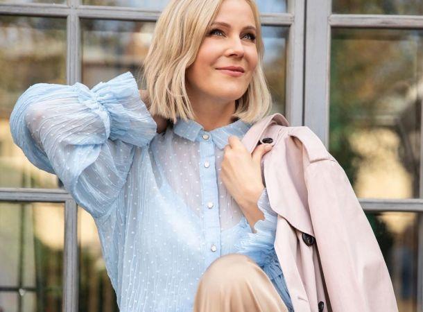 Мария Куликова показала, как становилась лицом косметического бренда