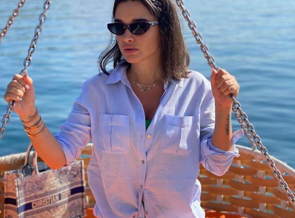 Ксения Бородина цинично прокомментировала скандал в семье Степана Меньщикова
