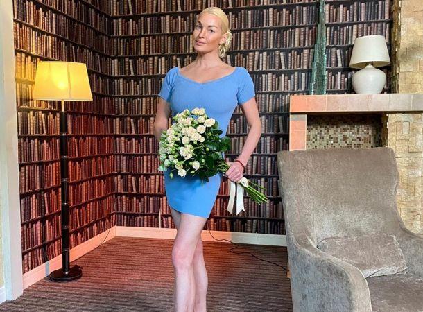 Анастасия Волочкова сорвала интервью на телевидении
