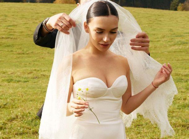 Ольга Серябкина сыграла свадьбу за границей