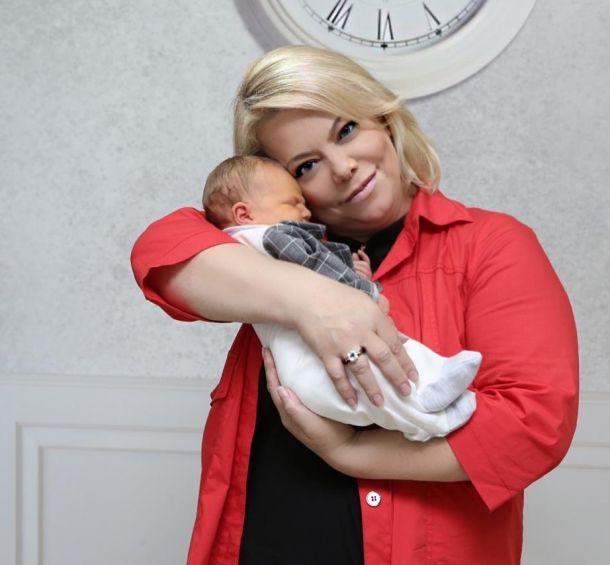 Яна Поплавская рассказала, чем её удивил маленький внук