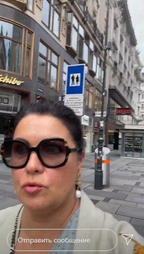 Анна Нетребко вышла на прогулку по Вене после терактов