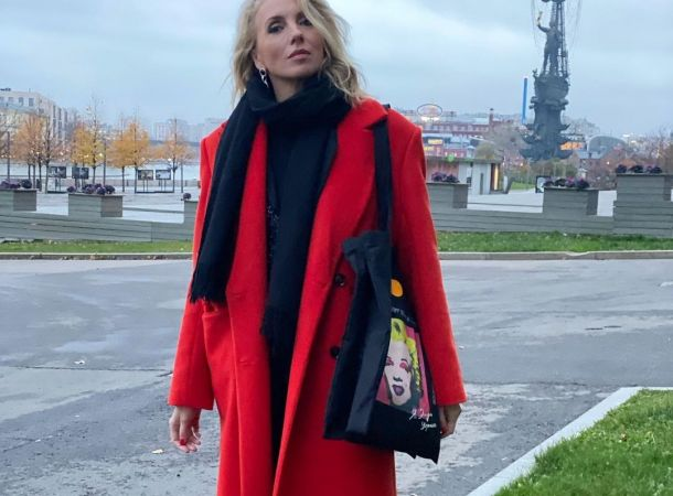 Светлана Бондарчук разделась для рекламы своего нового проекта