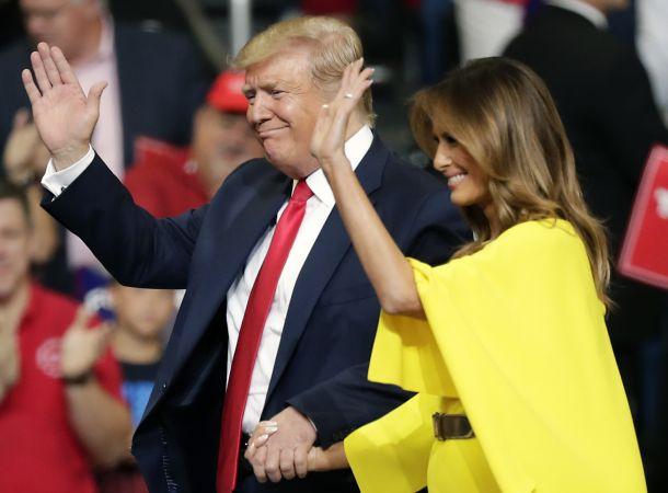 Жена Дональда Трампа подала на развод