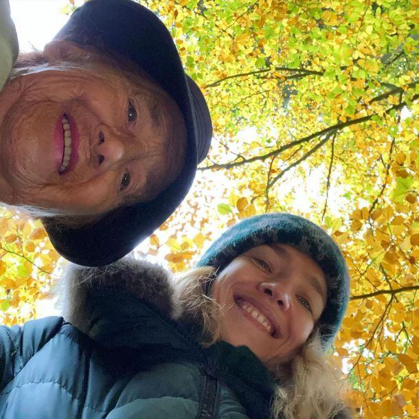 Наталья Водянова с шумом отпраздновала 91-летие своей бабушки