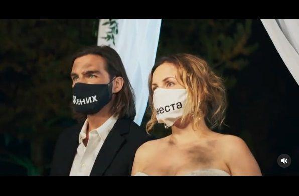 Юлия Проскурякова стала невестой на съемочной площадке