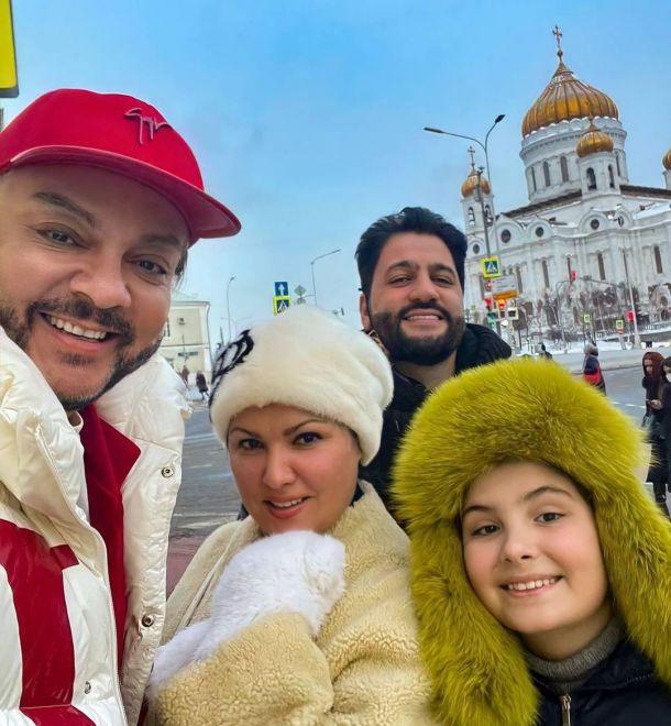 Анна Нетребко поужинала в компании Филиппа Киркорова