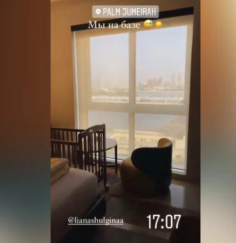 Сын Валерии продемонстрировал условия отдыха в Дубае