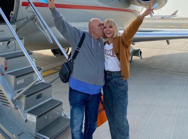 Иосиф Пригожин и Валерия второй раз за сезон улетели в Дубай