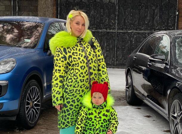 Лера Кудрявцева с дочерью поменялись ролями
