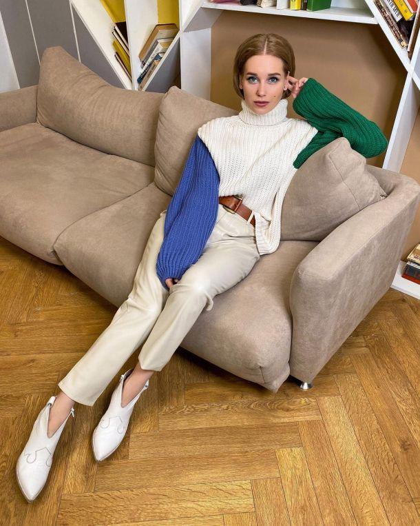 Кристина Асмус примерила стильный весенний образ