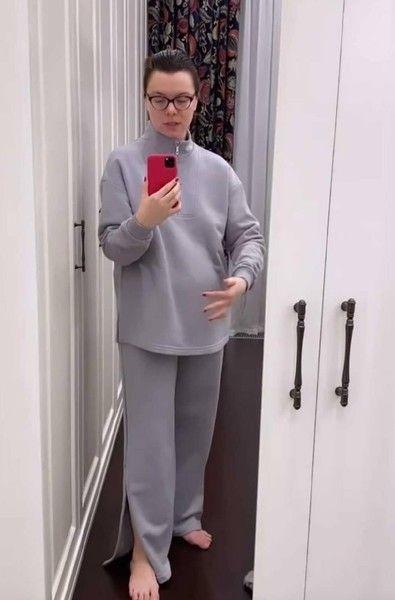 Татьяна Брухунова снова продемонстрировала округлившийся живот