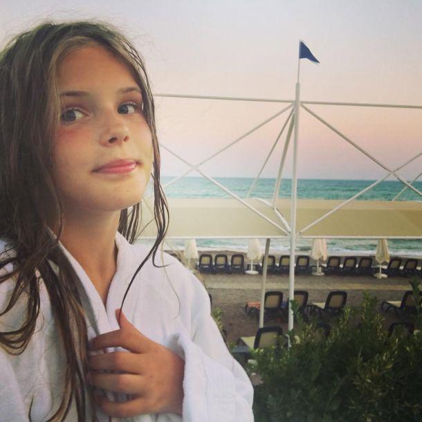 Дочь Александра Абдулова растет его копией