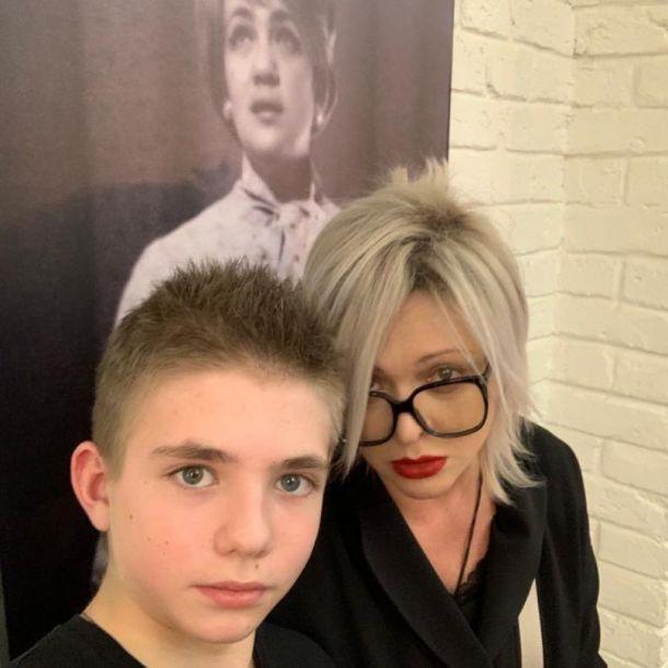 Дмитрий Певцов показал подросшего сына от Ольги Дроздовой