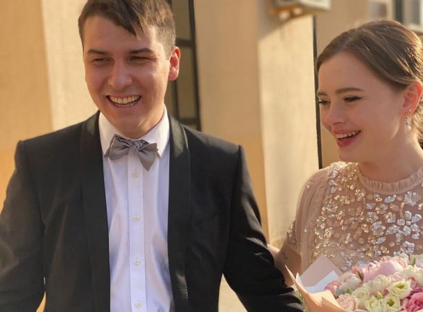 Сын Ирады Зейналовой сыграл свадьбу с возлюбленной