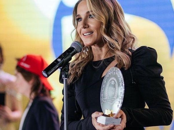 Юлия Ковальчук получила оригинальную награду