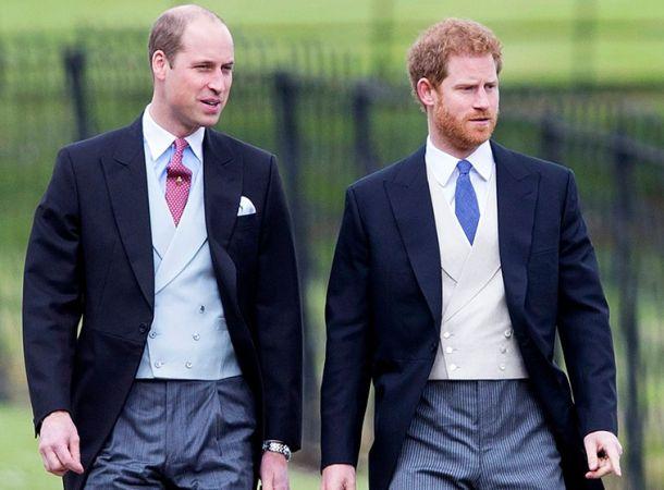 Выяснилось, о чем говорили принц Гарри и принц Уильям на похоронах дедушки