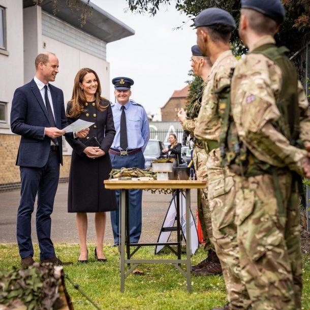Кейт Миддлтон появилась на публике впервые после похорон принца Филиппа