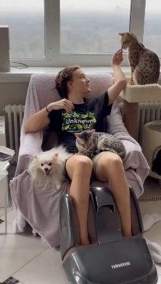 Анастасия Макеева показала, как проводит время с сыном любовника