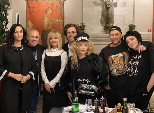 Алла Пугачева с мужем повеселились на дне рождения Игоря Гуляева