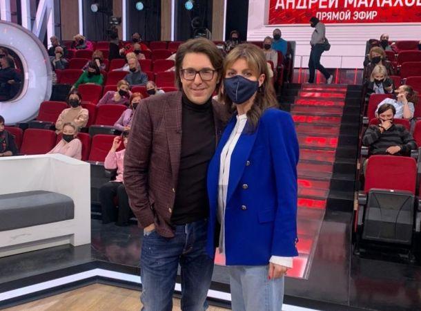 Андрей Малахов поддержал тяжело больную Алису Казьмину