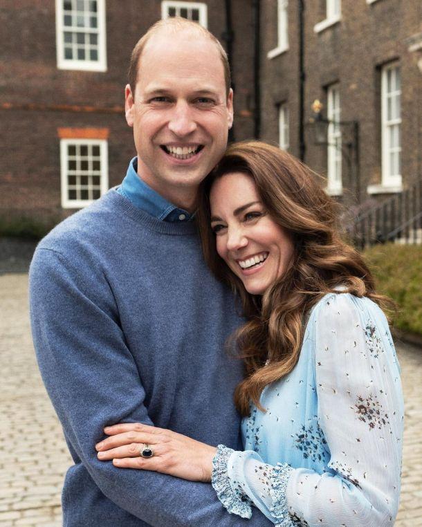 Кейт Миддлтон и принц Уильям празднуют десятую годовщину свадьбы