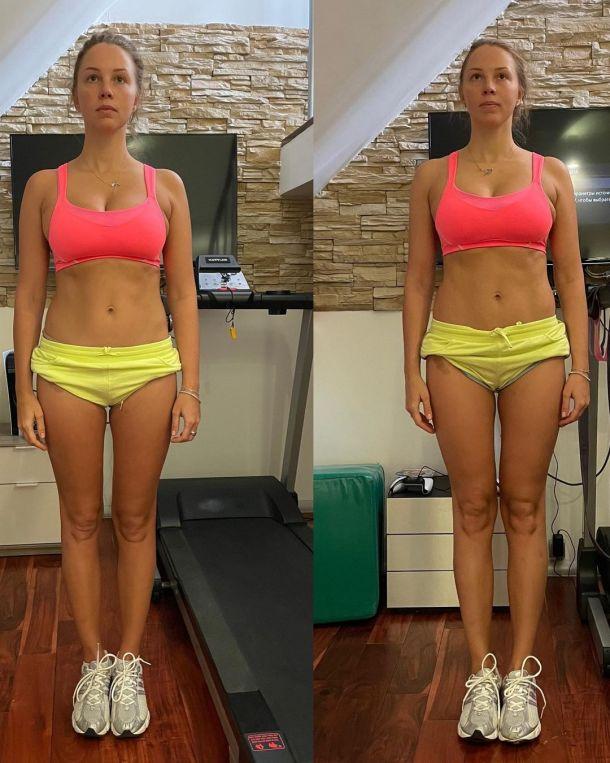 Располневшая Полина Диброва отчаянно пытается сбросить лишний вес