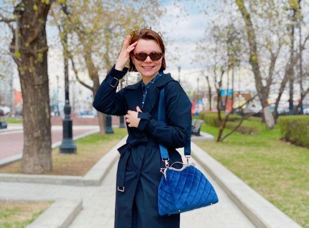 Татьяна Брухунова очаровала россиян изысканным монохромным образом