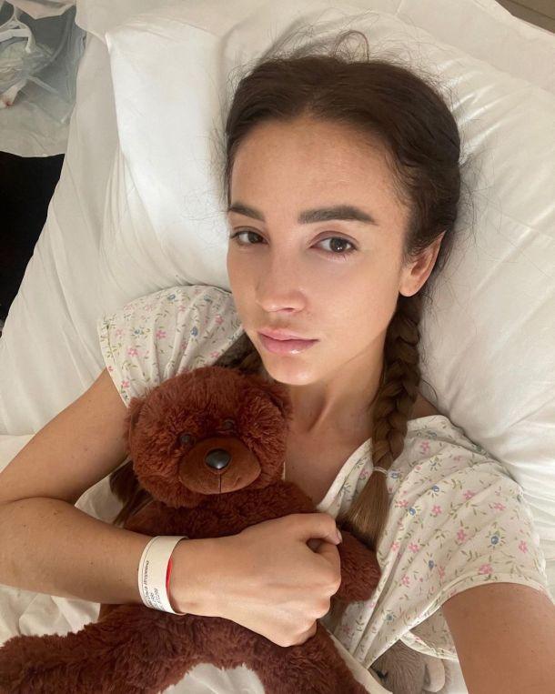 Ослабленная после операции Ольга Бузова записала видео из больницы