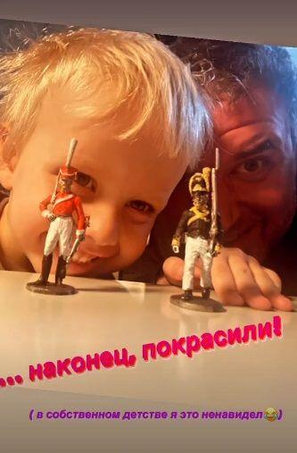 Максим Виторган умилил сценой с сыном от Ксении Собчак