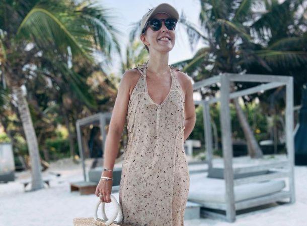 Ксения Собчак резко похудела после поездки в Мексику
