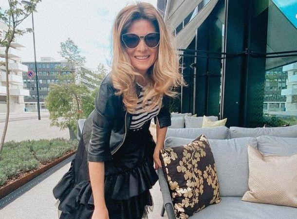 Жанна Бадоева провела уик-энд с бывшим и нынешним мужьями