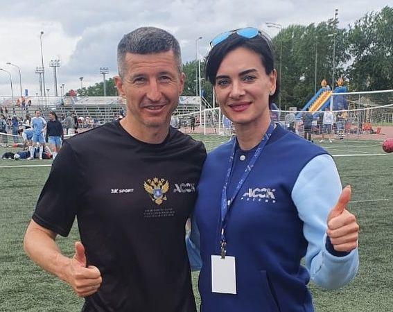Евгений Алдонин снялся рядом с Еленой Исинбаевой