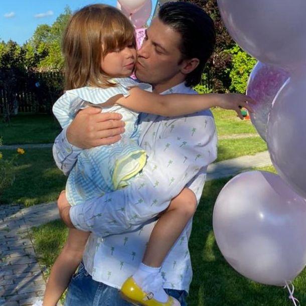 Гела Месхи увиделся с маленькой дочерью от Климовой