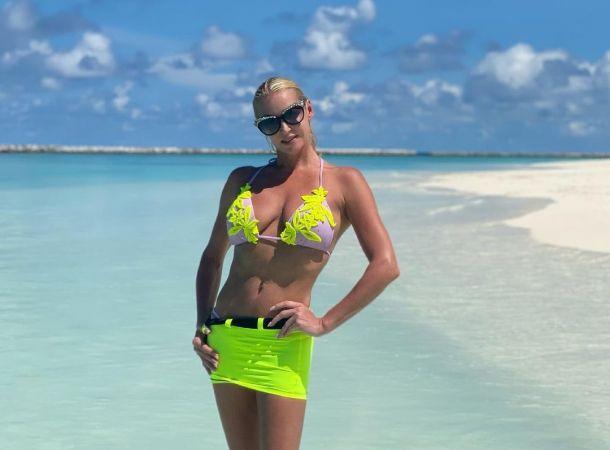 Отдохнувшая на Мальдивах Анастасия Волочкова мечтает вновь оказаться на островах