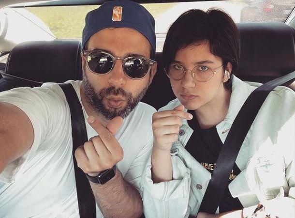 Иван Ургант поделился редким снимком с дочкой, похожей на него, как две капли воды