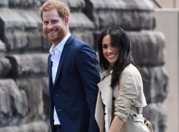 Принц Гарри прибыл в Лондон без жены и детей