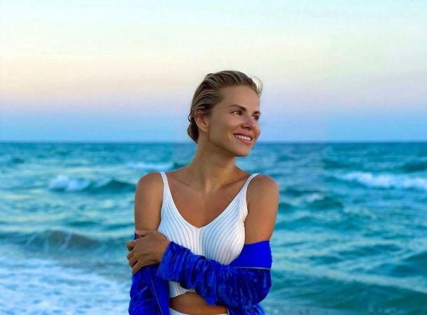 Ольга Казаченко появилась на публике без нижнего белья
