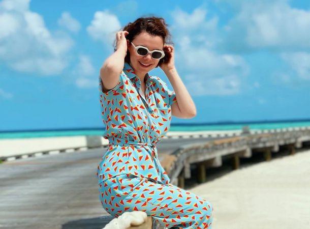 Татьяна Брухунова со слезами на глазах покидала райские Мальдивы