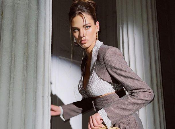 Алеся Кафельникова продемонстрировала фигуру через пару недель после родов